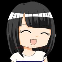フサ美 笑顔